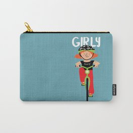Positively Girly - biker Carry-All Pouch