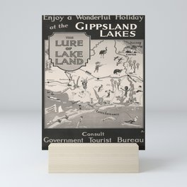 Gippsland Lakes Affiche Mini Art Print