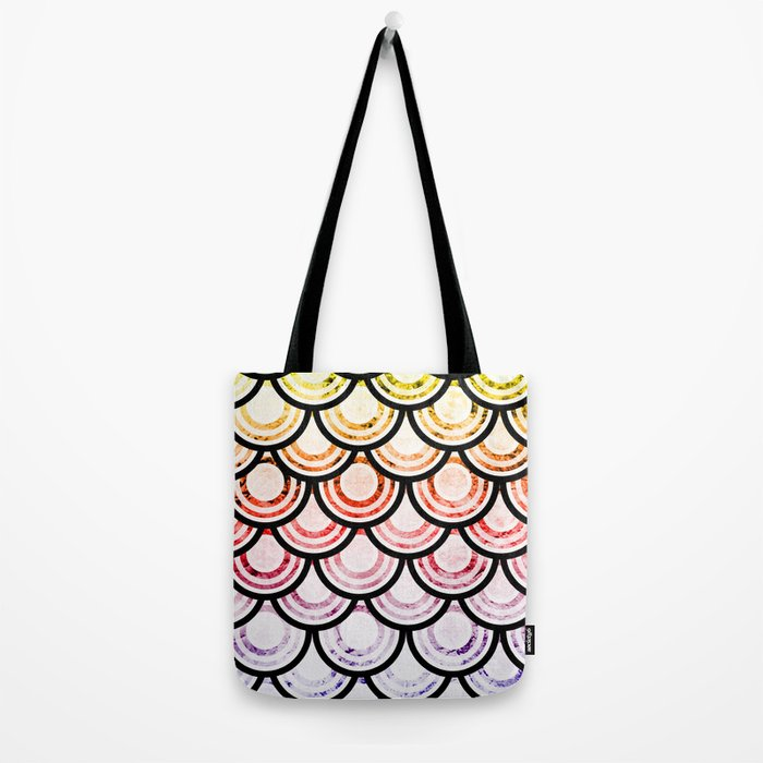 Bright Scallops Tote Bag