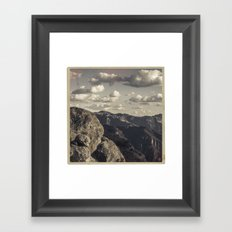 Nº7 Framed Art Print