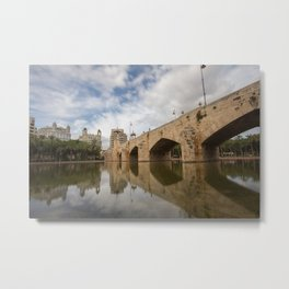 Pont del Mar Metal Print