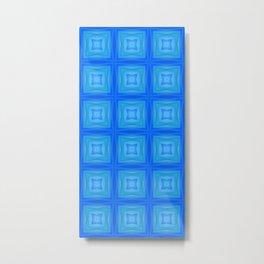 blue patch Metal Print