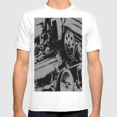 MOTORHEAD MEDIUM White Mens Fitted Tee
