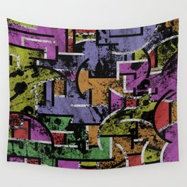 Textured Segregation Wall Tapestry