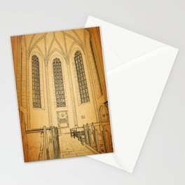Eastern European Church Alter Stationery Cards