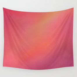 Red Blurred Wall Tapestry