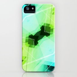 Revive - Geometric Abstract Art iPhone Case