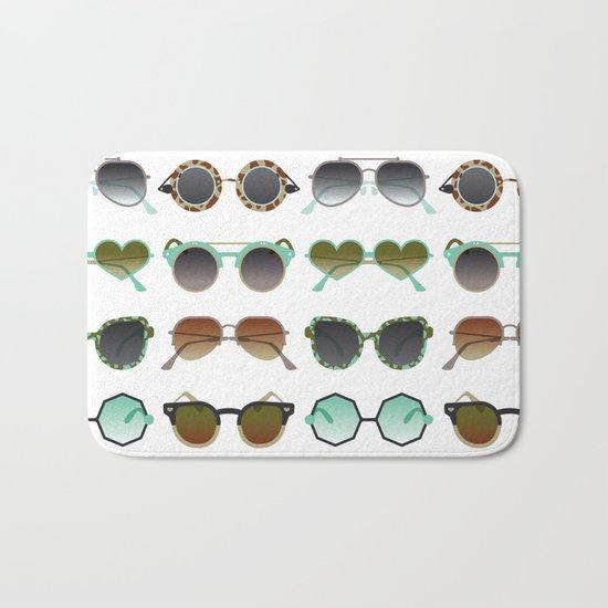 Sunglasses Collection – Mint & Tan Palette Bath Mat