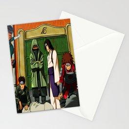 ninja konoha Stationery Cards