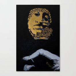 O Mic Canvas Print