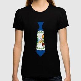 Belize Patriotic Tie Shirt T-shirt