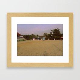 Bus Ride #4 Framed Art Print