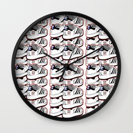 JMJ TRIBUTE: WALK THIS WAY Wall Clock