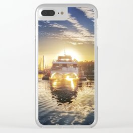 Australian Sunrise Clear iPhone Case