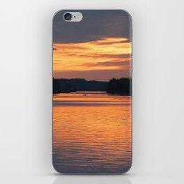 Sunset Reflection #decor #society6 #buyart iPhone Skin