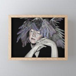 Do You Like My Hat Framed Mini Art Print