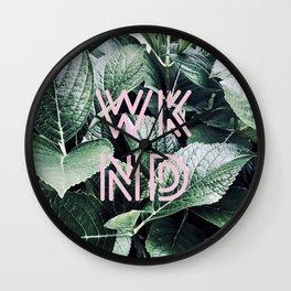 Weekend - WKND Wall Clock