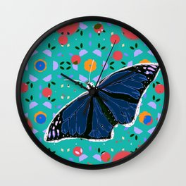I Can't Believe It's Not Butter(Fly) Wall Clock