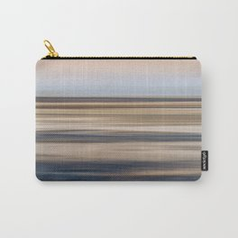 Abstract Shore Line Carry-All Pouch