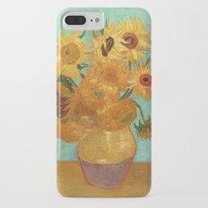 Vincent Van Gogh Twelve Sunflowers In A Vase iPhone 7 Plus Slim Case
