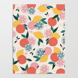 Citrus crush Poster