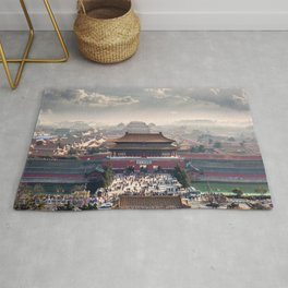 World Famous Ancient Building Asia Ultra High Definition Rug