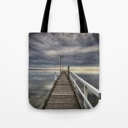 Moody skies Tote Bag
