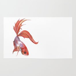 The Red Fish Rug