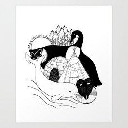 Culture Art Print