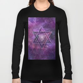 Metatron's Merkaba  Long Sleeve T-shirt