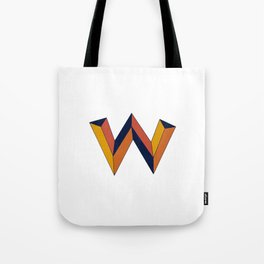 The W Letter Tote Bag