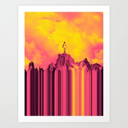 Adventures in the Clouds Art Print