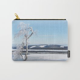 Ice Tree Carry-All Pouch