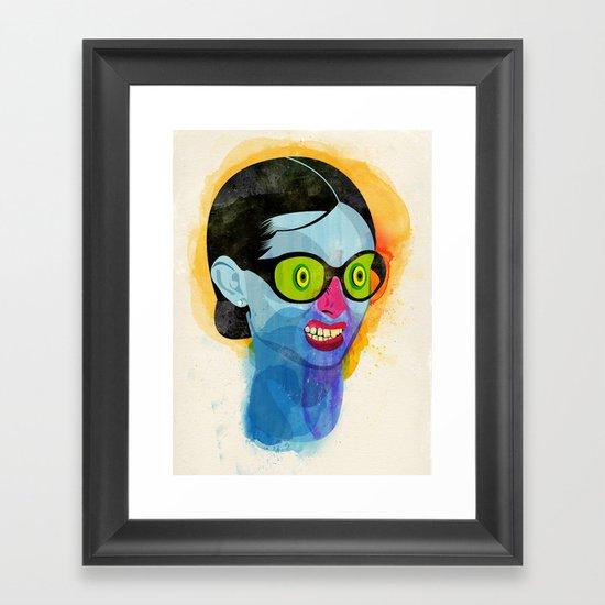 Fussy Framed Art Print