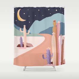 Sweet Desert Escape Shower Curtain