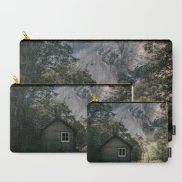 Mountain Cabin - Landscape and Nature Photography Carry-All Pouch