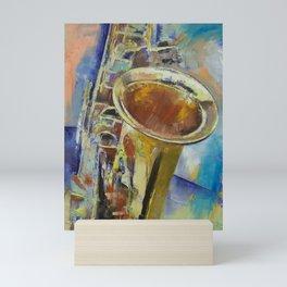 Saxophone Mini Art Print