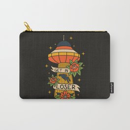 Hello Human! Carry-All Pouch