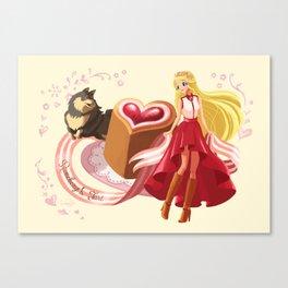 Scandi Sweets - Runeberg's Tart Canvas Print