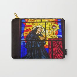 Stained Glass of the Cathedral Almudena Carry-All Pouch