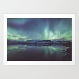 Jokulsarlon Lagoon - Landscape and Nature Photography Art Print