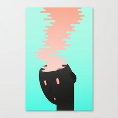 Brain combustion Canvas Print