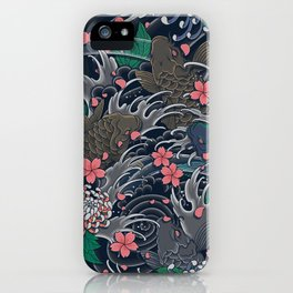Blossom Blizzard iPhone Case