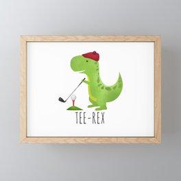 Tee-Rex Framed Mini Art Print