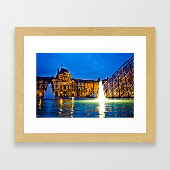 Palais du Louvre II Framed Art Print