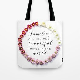Beautiful Families Tote Bag