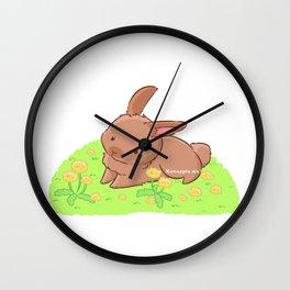 Dandelabbit Wall Clock