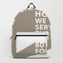 As for me & my house Backpack