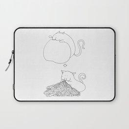 Strange Creature Eating Laptop Sleeve