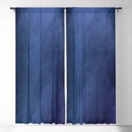 Rainbow Iris Blue Blackout Curtain